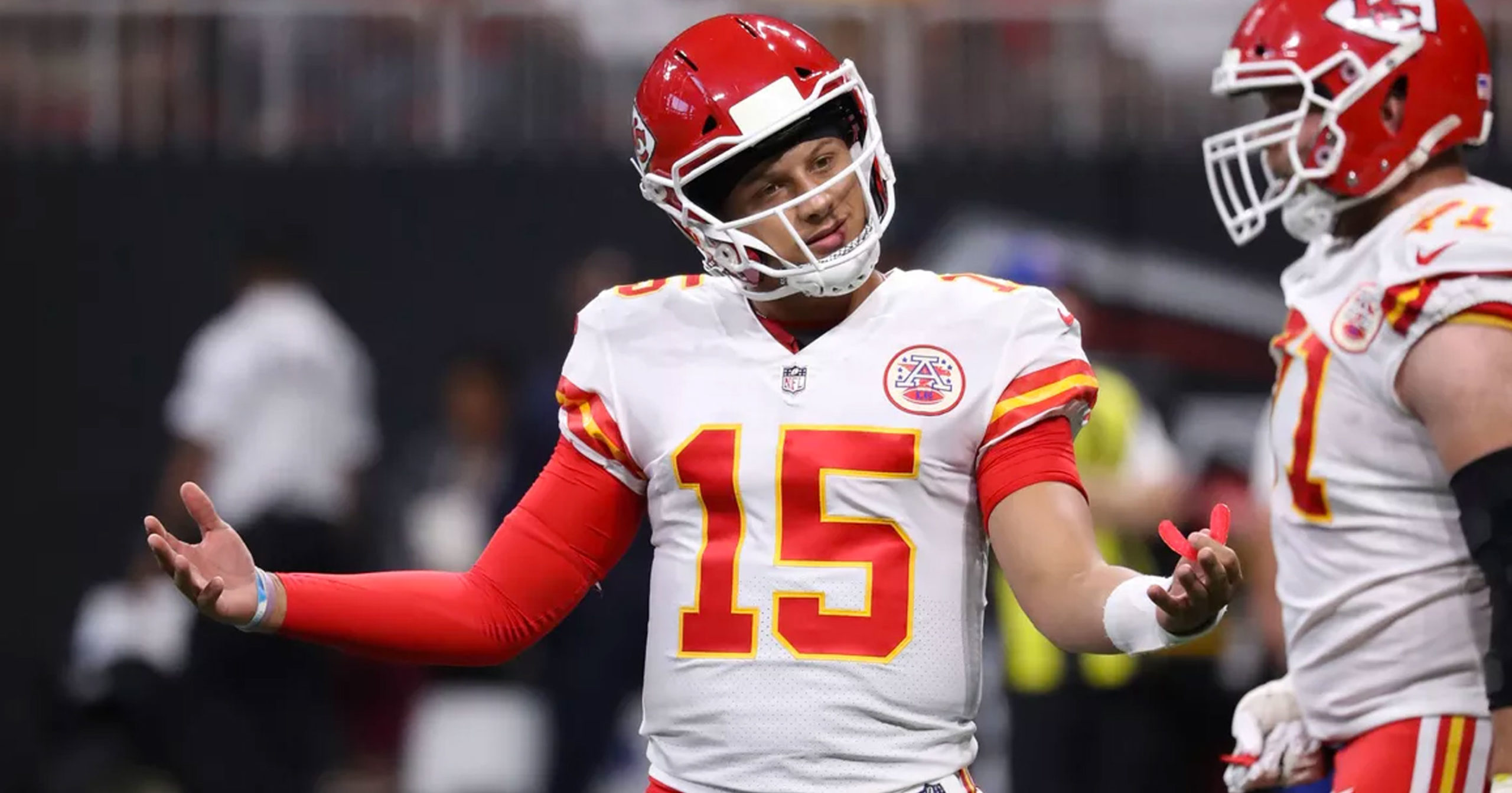 Patrick Mahomes Playing for the Chiefs