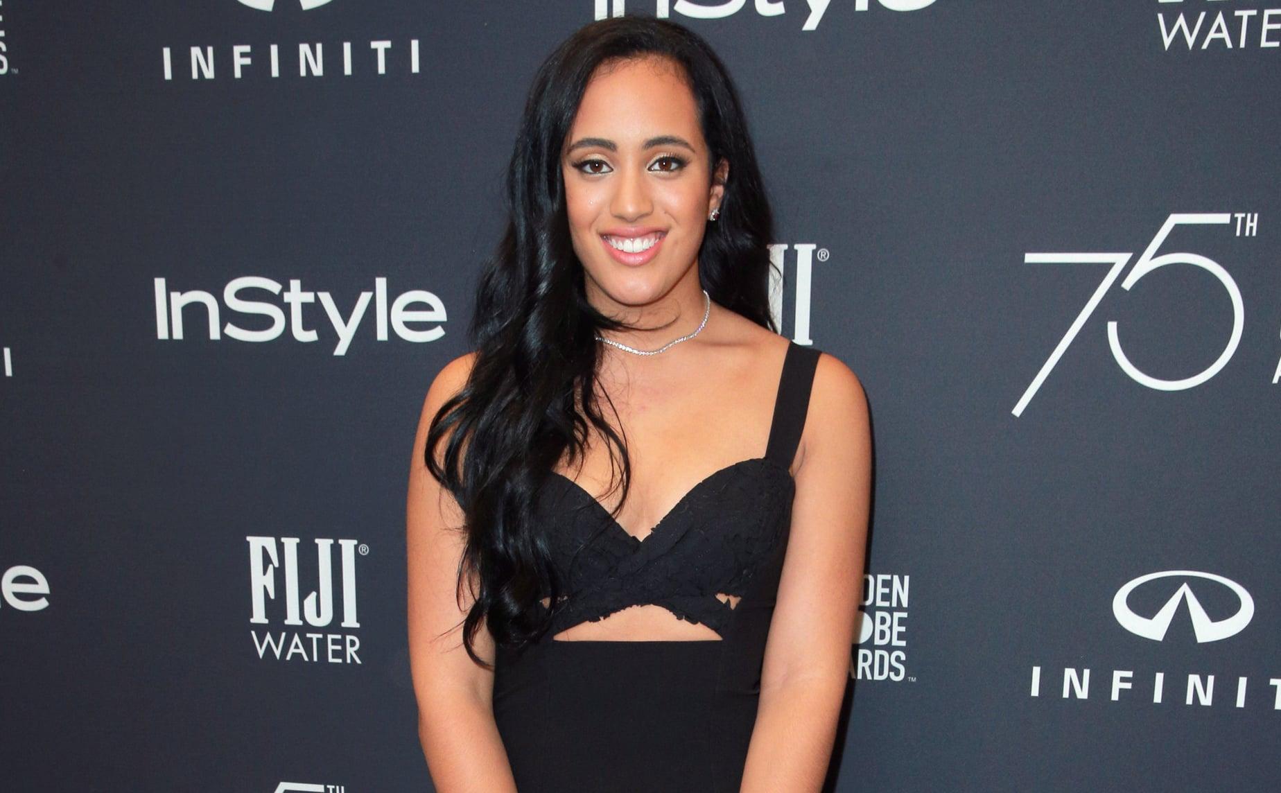 Simone Johnson was the 2018 Golden Globe Ambassador