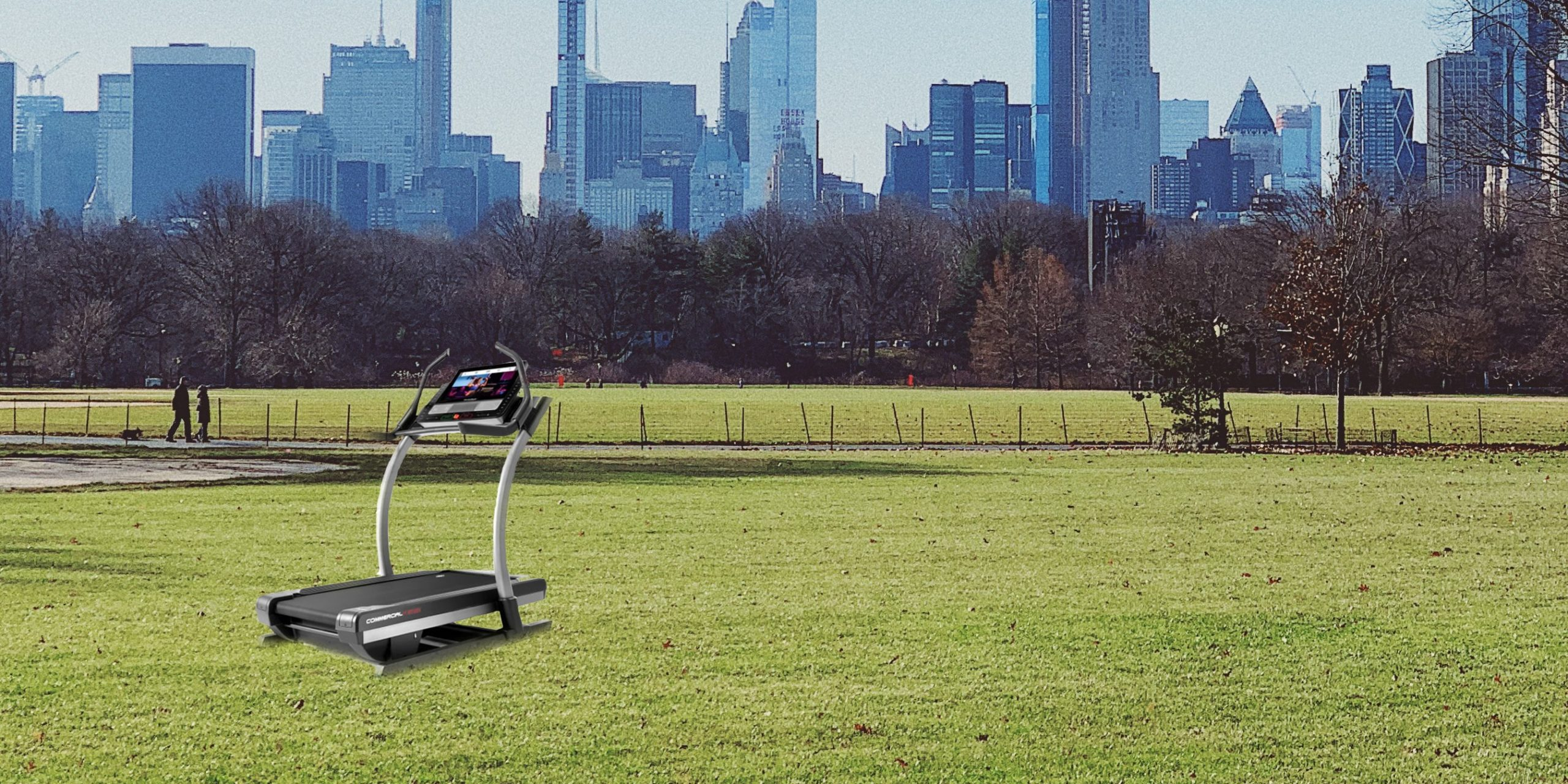 Treadmill in Central Park