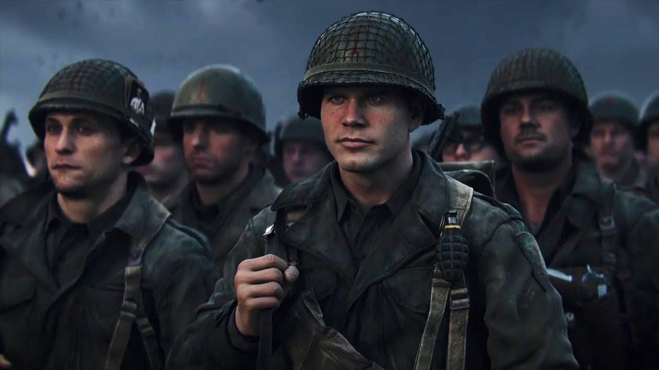 An image from Call of Duty: WWII