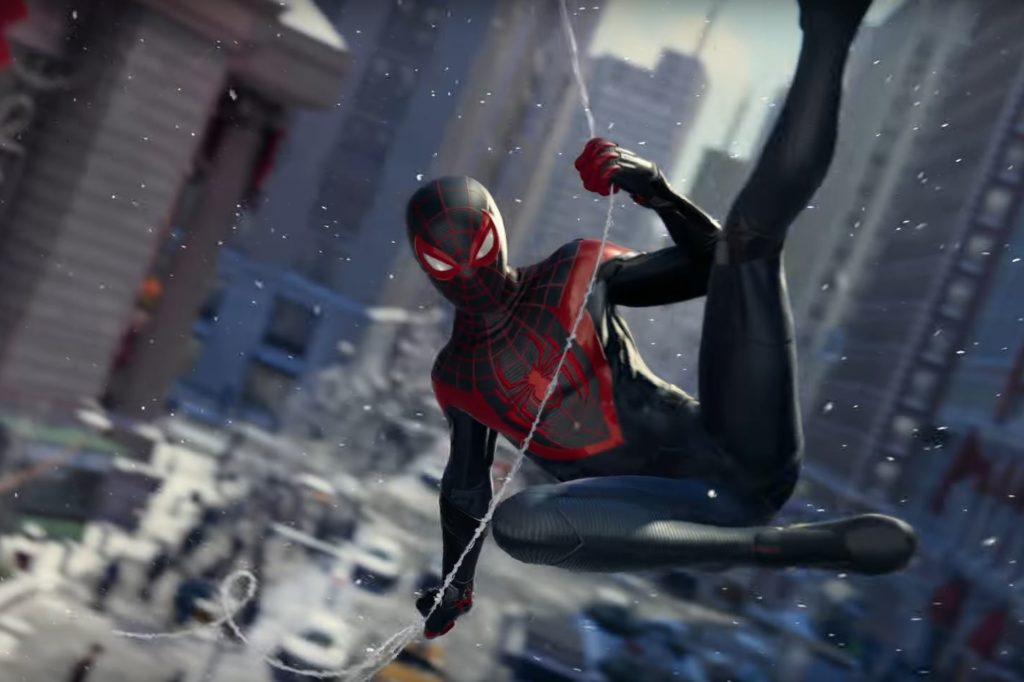 An image from Spider-Man: Miles Morales