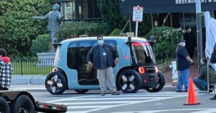 San Francisco: Amazon's Zoox Driverless Car Spotted on the Road