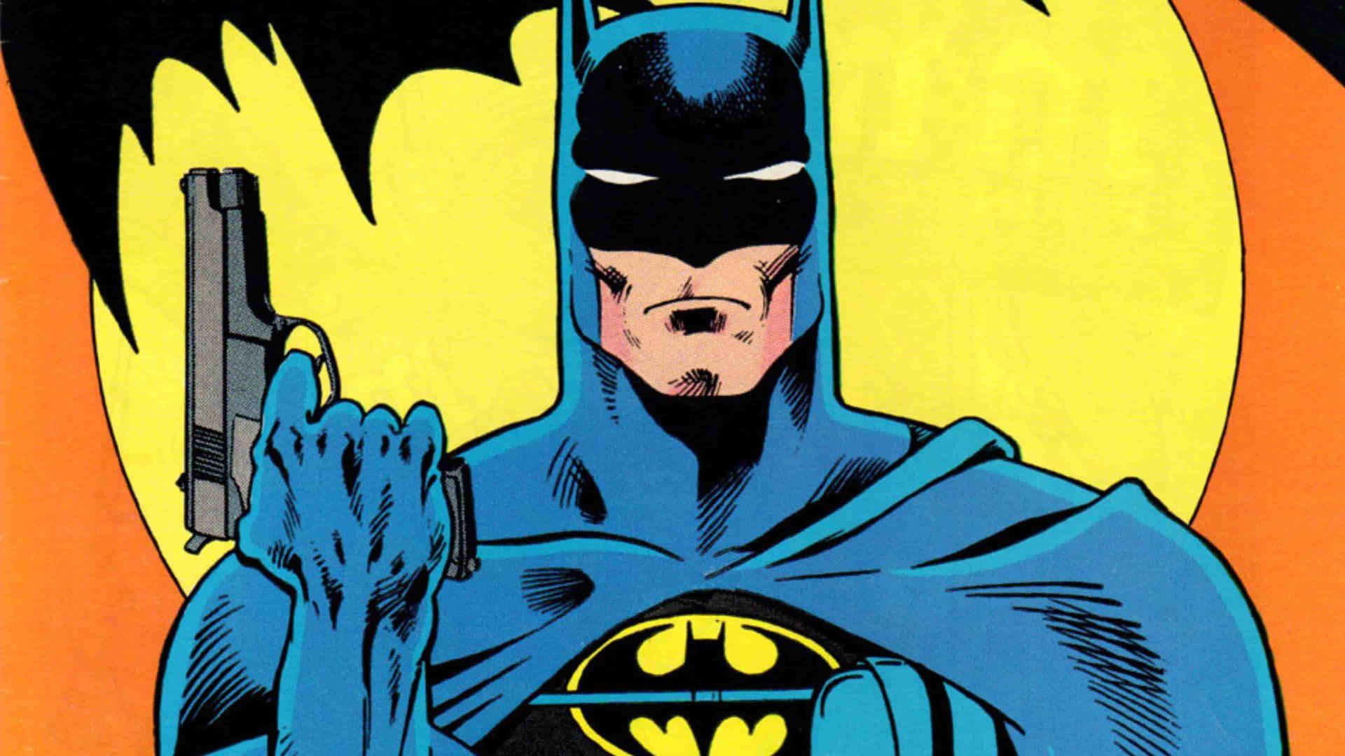 Batman, comic book depiction