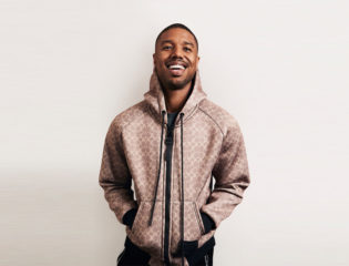 Michael B. Jordan Is Put Under the Microscope by Steve Harvey